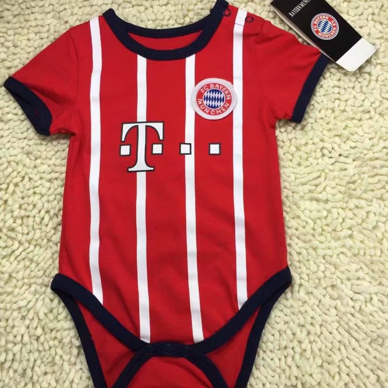 f869675f9c0 19-20 kid Bayern soccer baby romper customize name number
