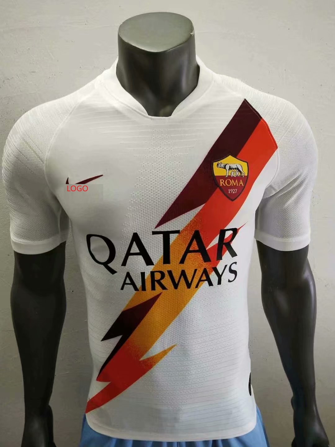 low priced 23f68 b53df 2019/20 Adult player version A.S.Roma away soccer jersey