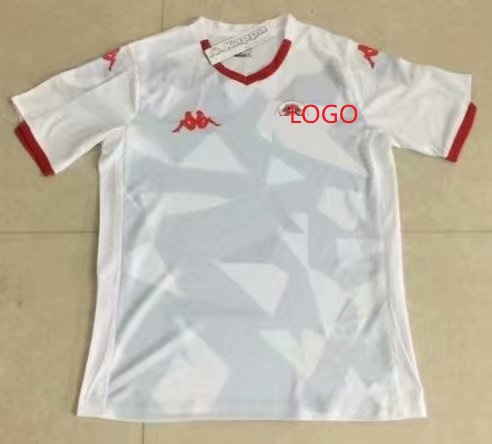 on sale 4d5ee 43555 2019/20 Adult thai version Tunisia national home Soccer jersey