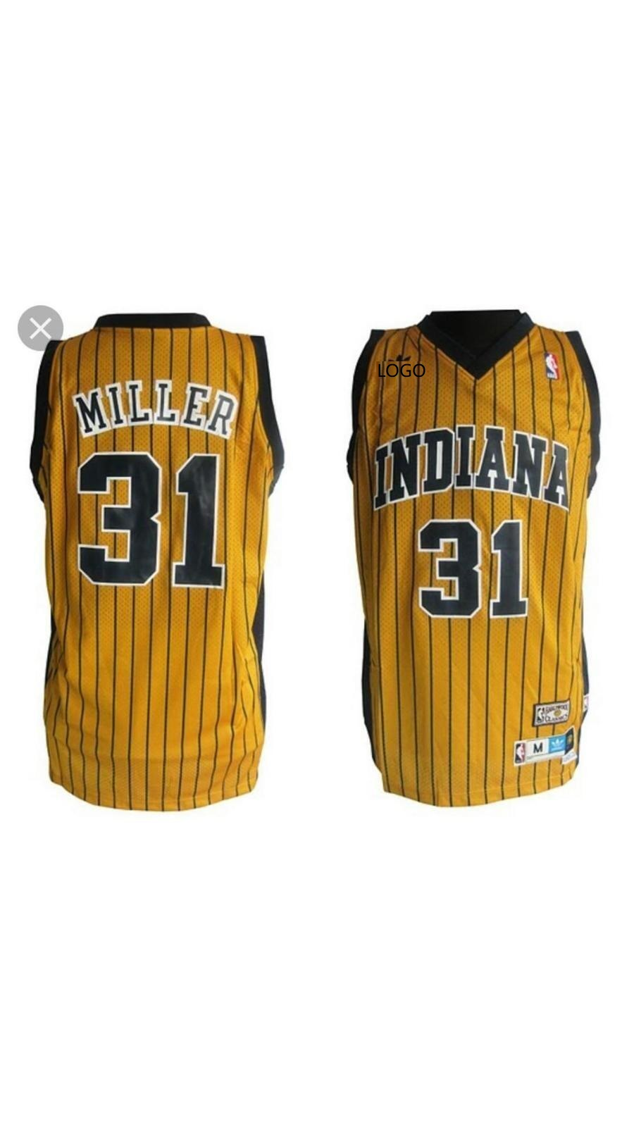 buy popular ce666 78166 2019/20 Adult INDIANA 31 MILLER basketball jersey
