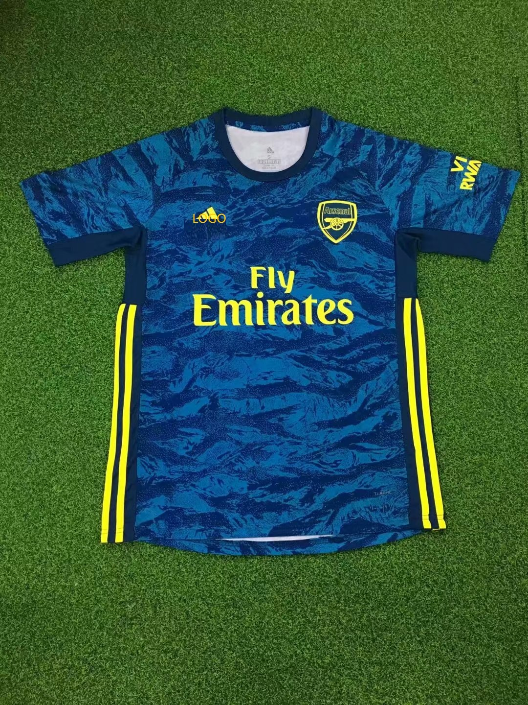 buy popular 826ad 7e21f 2019/20 Adult fan version Arsenal Goalkeeper soccer/football jersey