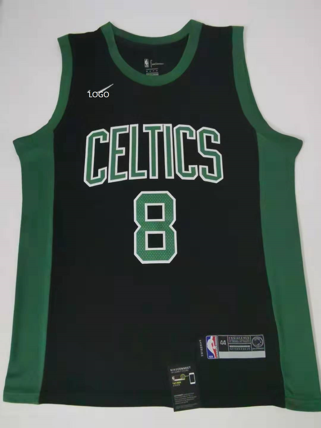 more photos 71173 50ab0 2019/20 men Boston Celtics 8 balck basketball jersey