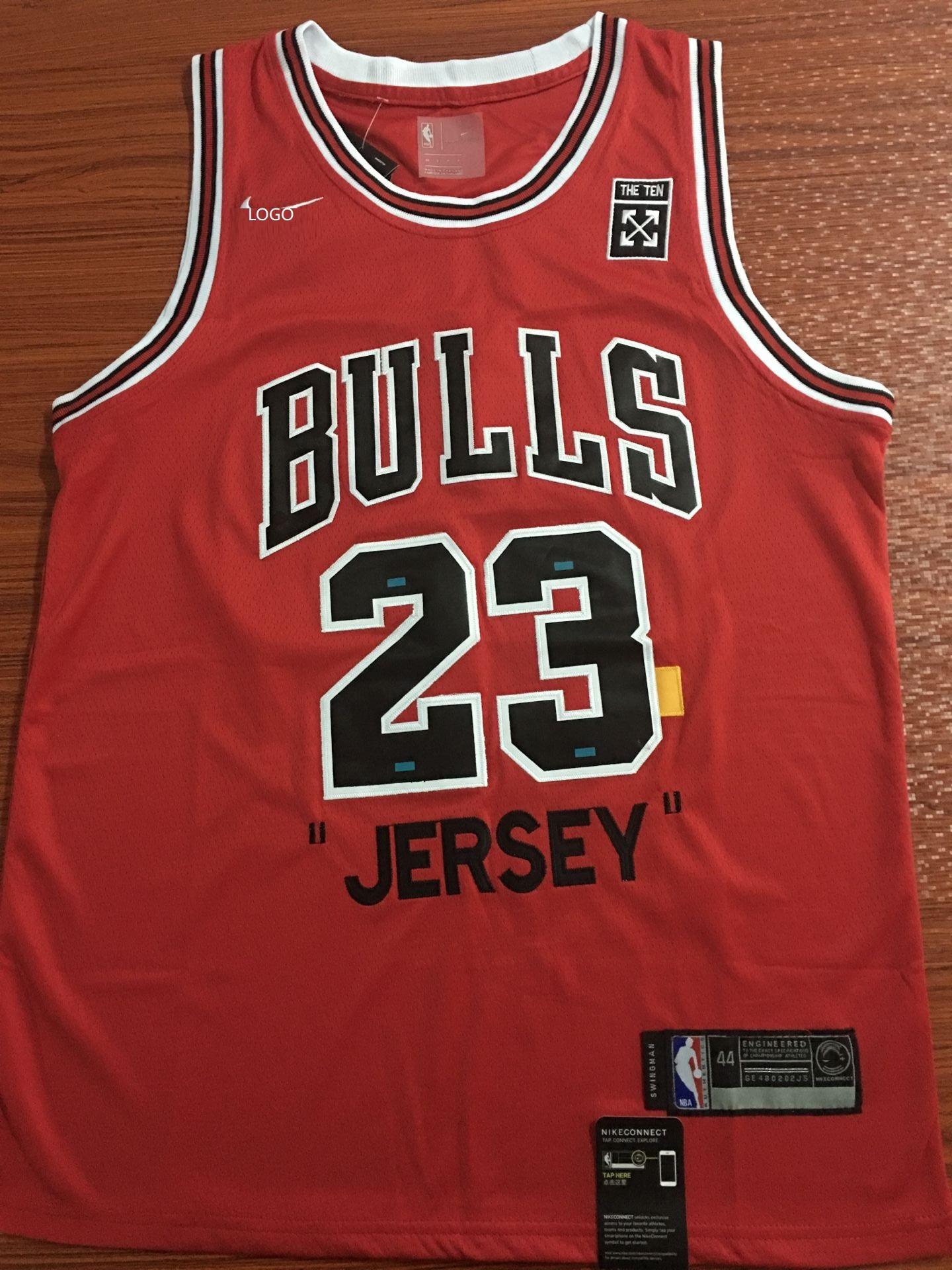 separation shoes 6d72b 150fe 2019/20 Adult bulls jordan 23 red basketball jersey