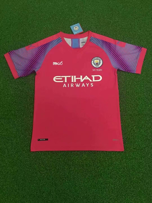 huge discount da164 e6f48 19/20 Adult thai version Manchester City Goalkeeper soccer jersey