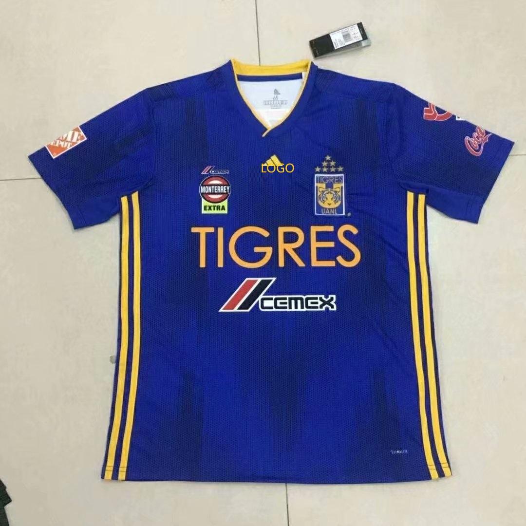 check out 26385 da3f1 2019/20 Adult thai version Tigres UANL soccer jersey football shirt Fútbol