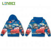 Lenrick CARTOON HOODIE  CHILDRENS SWEATSHIRT ZIP COAT JACKET JUMPER HOODY TOP