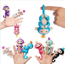 2017 Toy Fingerlings Baby Monkey Toy Gigi the Unicorn Fingerling  New Toy Best Seller  Finger Money Toy