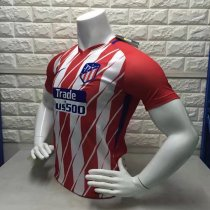 17-18 Atletico Madrid Red Home Training Jersey Shirt THAILAND QUALITY ADULT SOCCER TOP SHIRT