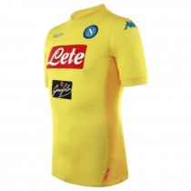REPLICA NAPOLI 17-18 AWAY JERSEY ADULT SOCCER KIT MEN FOOTBALL TOP SHIRT