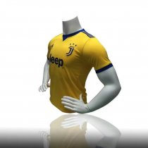 17/18 Adult Juventus Away Yellow Soccer Jersey Men Wholesale Football Shirt Custom Name and Number