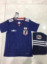 Kids Japan Soccer Jersey Uniform For Russia World Cup