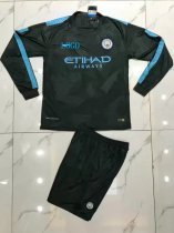 Adult Manchester City Long Sleeve Jersey Uniforms