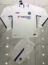 Chelsea Away White Long Sleeve