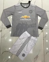 Adult Manchester United Long Sleeve Jersey Uniforms
