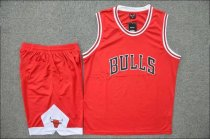 Adult Chicago Bulls Red Jersey Uniforms Men Cheap Basketball Kits Man Sport Team Sets