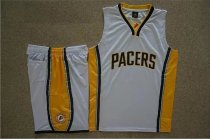 Men's Indiana Pacers White Custom Replica Jersey Kits Adult Basketball Uiforms