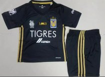 17/18 Tigres UANL Home Black Soccer Uniforms Adult Football Kits Wholesale Online