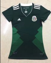 17/18 Adult Mexico Jersey Woman Shirt Soccer Kit  This size is US Size