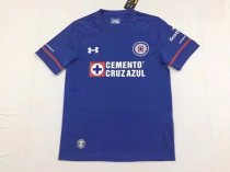 17/18 Adult Cruz Azul blue Home Jersey Men Soccer Kit