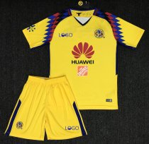 2018 Adult  America Aguilas  Camiseta de futbol Third Away Mexican League soccer jerseys set Men Football Kits