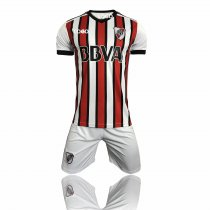 2018 River Third Away Kits Adult Soccer Jersey Uniform Men Football Shirt and Short