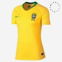 2018 Woman World Cup Brazil  Home Soccer Jersey Uniform National Team Football Jersey  Women Kits