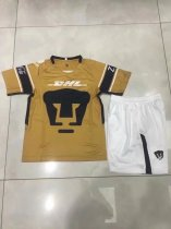 2018 2019 Thai quality Men MEXICO Club UNAM Football kits Mexiko Universidad Nacional Van Rankin Brown Soccer Jerseys Mexican shorts set