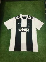 18/19 Thailand Quality Adult Juventus Home Soccer Jersey   Men Football Replica Kits Top  Shirt Fan Version