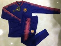 2018/19 Men Barcelona Blue Soccer Jacket Adult Football Jackets