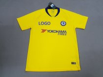 2018-19 -Thai Quality Men Chelsea Away yellow Soccer Jersey