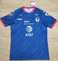 18-19 Thai Quality monterrey blue away  Soccer Jersey