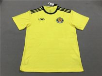 18-19 Scotland Away yellow Soccer Jersey -Thai Quality
