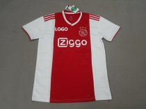 18-19 -Thai Quality Men Ajax Home Red And white Soccer Jersey