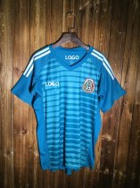18-19 Mexico blue goalkeeper Soccer Jersey -Thai Quality