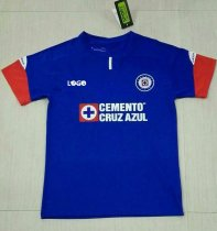 18-19 Cruz Azul Blue Soccer Jersey -Thai Quality