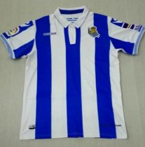 18-19 Real Sociedad Home Soccer Jersey -Thai Quality