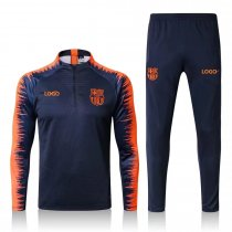 2018/19 Men Barcelona Soccer Tracksuit Adult Football Track Suit