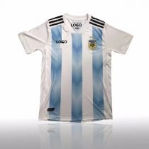 Thai Quality Men Argentina Home Soccer Jersey Adult Football Shirt