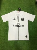 Thai Quality White UEFA Champions League PSG Paris Soccer Jersey Football Shirt