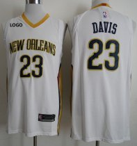 New Orleans Pelicans Davis 23 Men Basketball Jersey Man Basketball Shirt