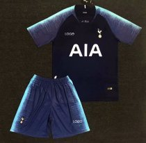 2018-19 AAA Quality Tottenham Away Blue Soccer Jersey Uniform Adult Football Kits