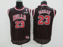 Adult Chicago Bulls Basketball Jersey 23 Black Red