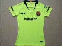 18-19 Women Barcelona Away Green Soccer Jersey - Thai Quality Football Shirt