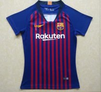 18-19 Women Thai Barcelona Home Fan Version Soccer Jersey Football Shirt