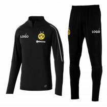 2018/19 Men BVB Borussia Dortmund Adult Black Training Technical Tracksuit