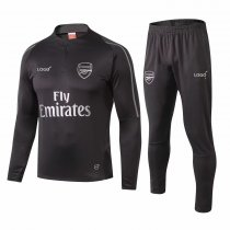 2018/19 Adult Arsenal FC Black Training Technical Soccer Tracksuits