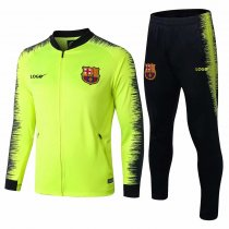 2018/19 Men Barcelona Green Football Jackets Kits Adult Training Tracksuit Sets