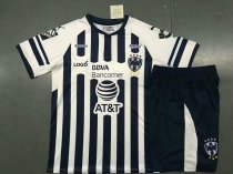 18/19 Boys Monterrey Soccer Jerseys Uniforms Kids Football Sets
