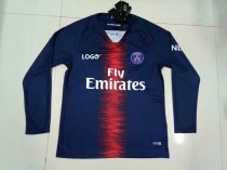 2018/2019 Thai Quality Men PSG Paris Home Long Sleeve Soccer Jersey