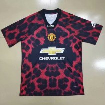 Adult manchester united EA sports red Soccer Jersey Men Football Shirt